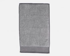 Linen House Plush Marle Hand Towel Charcoal