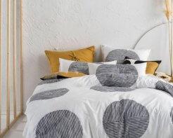 Linen House Pani Black Duvet Cover Set_1