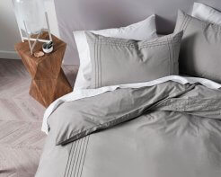 Linen House Duvet Cover Set Mayfair Grey