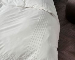 Linen House Duvet Cover Set Mayfair White