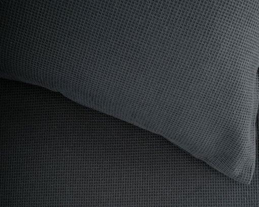 Linen House Duvet Cover Set Providence Charcoal