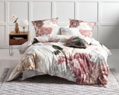 Linen House Duvet Cover Set Annette White