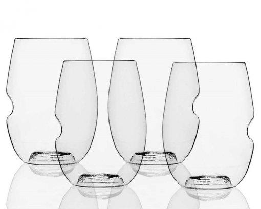 Govino Dishwasher Safe Red Wine Glasses Set 4piece 470ml
