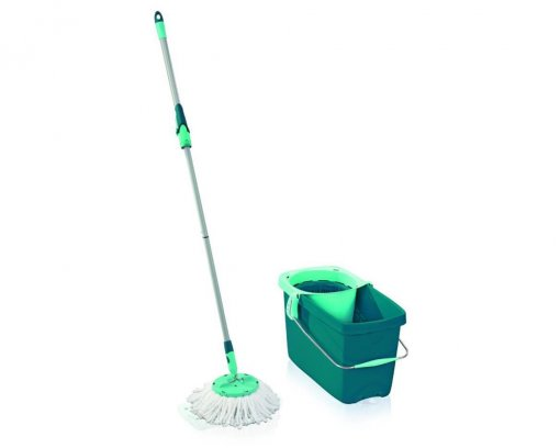 Leifheit Clean Twist Disc System Mop Set - with handle
