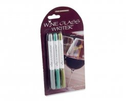 Wine Glass Writer - Original Metallic (set 3)