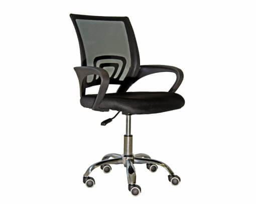 Value Collection Sonic Chair Black
